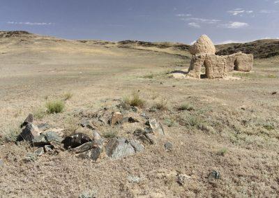 cemetery - kuljabasy valley - mongolia