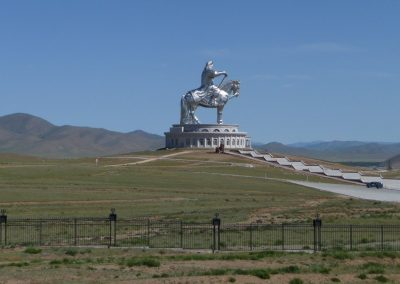 chiggis khan - hustai national park - mongolia