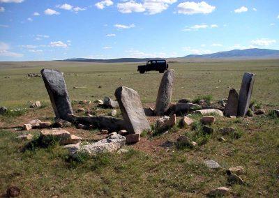deer stone from arkhangai aimag mongolia 2
