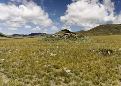 kurgan - hustai national park - mongolia