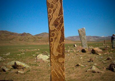 uushgiin ovor deer stone site near mrn khovsgol aimag mongolia 2