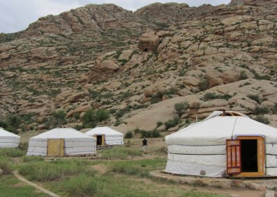 yurt - hustai national park - mongolia